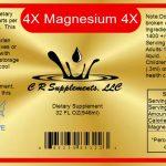 Magnesium ionic liquid mineral supplement.