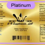 Platinum Reg Pint